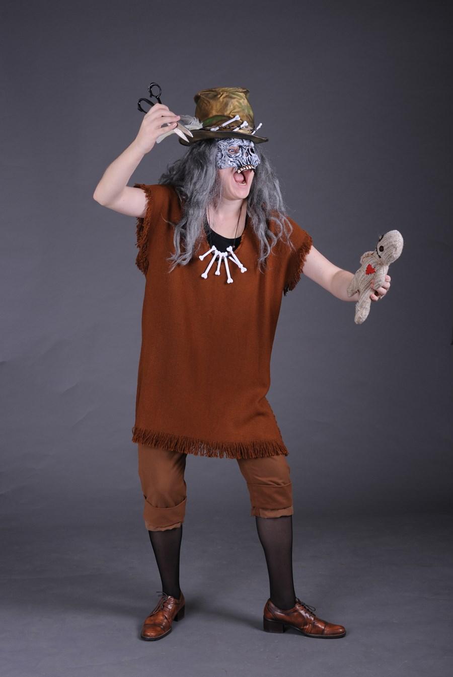 Своими руками костюм-шаман 56
